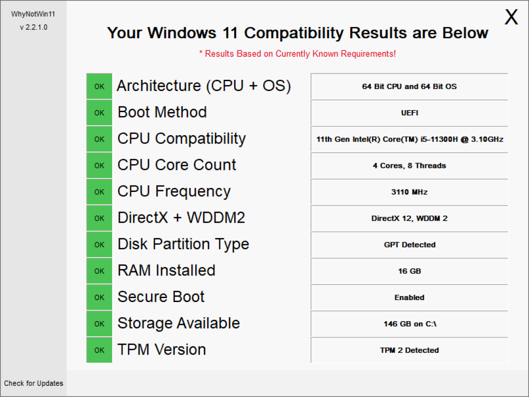 """微软官方 Win 11 """"体检工具""""太烂了?开发者自己做了一个"""